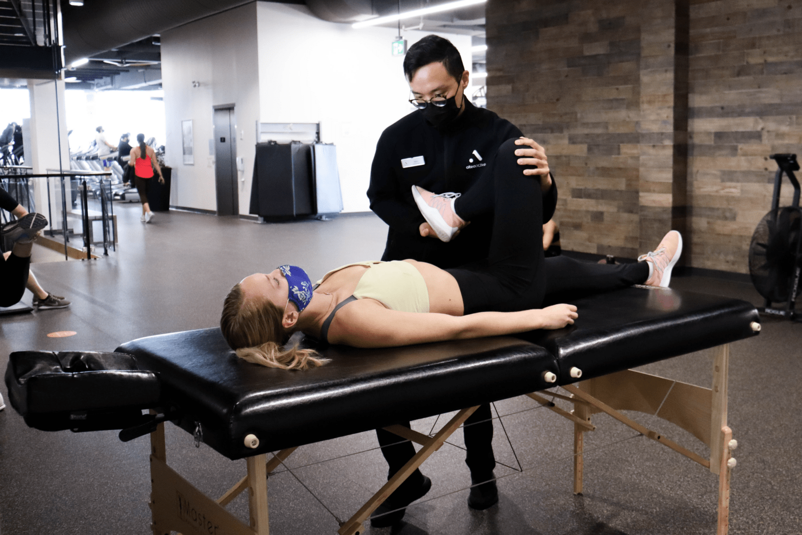 Women doing Athletic therapy